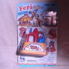 Juguetes antiguos: FERIA TREN A CUERDA DE SHAMBER'S. Lote 33510086