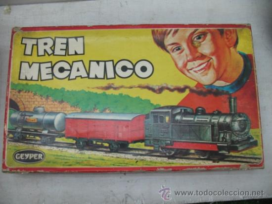 GEYPER 133 - ANTIGUO TREN MECÁNICO (Juguetes - Marcas Clasicas - Otras Marcas)