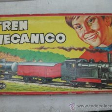 Juguetes antiguos: GEYPER 133 - ANTIGUO TREN MECÁNICO. Lote 33766705