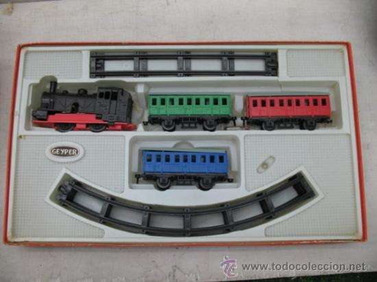 Juguetes antiguos: GEYPER 133 - Antiguo tren mecánico - Foto 2 - 33766705