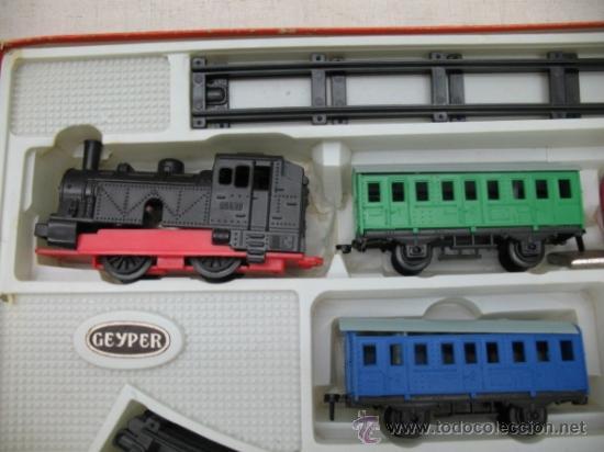 Juguetes antiguos: GEYPER 133 - Antiguo tren mecánico - Foto 3 - 33766705