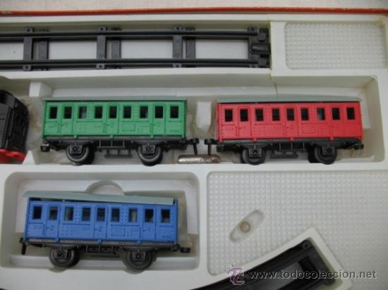 Juguetes antiguos: GEYPER 133 - Antiguo tren mecánico - Foto 4 - 33766705