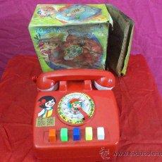 Juguetes antiguos: TELEFONO QUE HABLA DE BERNABEU GISBERT, MADE IN SPAIN, REF. 622, VER FOTOS. Lote 34204227