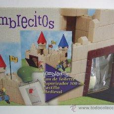 Juguetes antiguos: CASTILLO MEDIEVAL - HOMBRECITOS - CASTILLO COMPLETO CON SUS FIGURAS. Lote 34618164