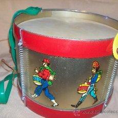 Juguetes antiguos - Tambor Metal de Juguetes Reig Ibi. Juguete Español. - 34652864