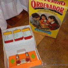 Juguetes antiguos: ORDENADOR AIRGAM JUEGO AÑOS 60 -70 , CAJA INCLUIDA. Lote 34657071