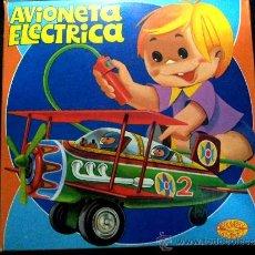 Juguetes antiguos: AVIONETA ELÉCTRICA. JUGUETE ANTIGUO ESPAÑOL. BERNABEU GISBERT. IBI (ALICANTE). ENVIO CERTIFICADO 5 €. Lote 42098962