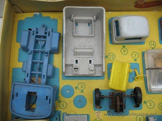 Juguetes antiguos: GEYPER REF: 502 - Montaje en cadena de camiones - Foto 3 - 35189616