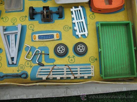 Juguetes antiguos: GEYPER REF: 502 - Montaje en cadena de camiones - Foto 5 - 35189616