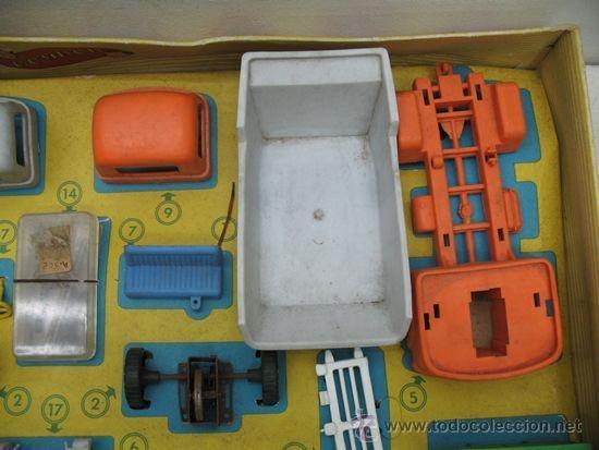 Juguetes antiguos: GEYPER REF: 502 - Montaje en cadena de camiones - Foto 6 - 35189616