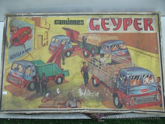 Juguetes antiguos: GEYPER REF: 502 - Montaje en cadena de camiones - Foto 7 - 35189616