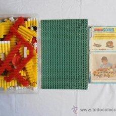 Juguetes antiguos: LOTE DE PIEZAS CONSTRUCCION ARKIMOS DE AIRGAM. Lote 35450320