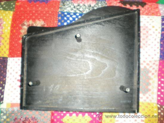 Juguetes antiguos: antiguo pianito de madera y baquelita de juquete años 40/50 sellado foreion grande - Foto 3 - 35995366