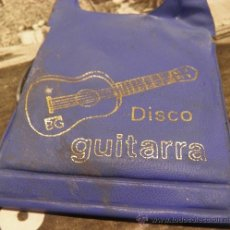 Juguetes antiguos: DISCOS PARA GUITARRA DE JUGUETE DE BERNABEU GISBERT. Lote 36216391