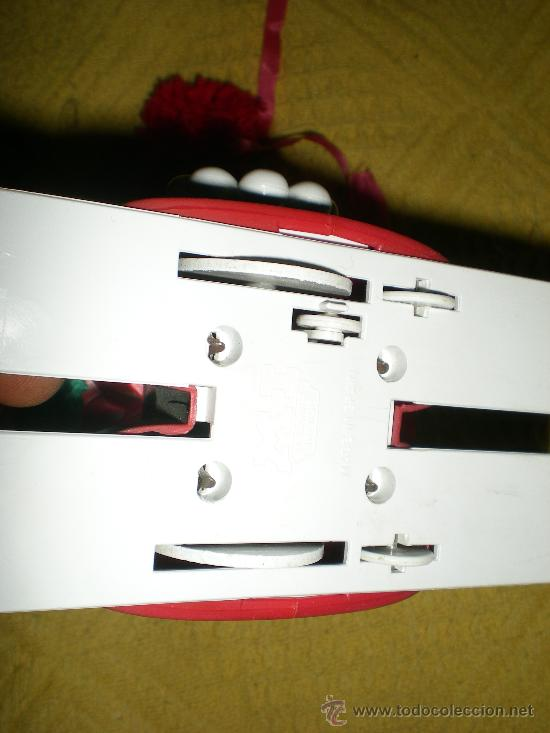 Juguetes antiguos: antigua muñequita automata esquiadora a resorte a cuerda funciona mecanica ibense spain años 70 - Foto 4 - 36269847