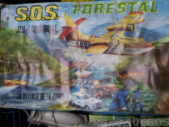 S.O.S. LA DEFENSA DE LOS BOSQUES-DIANA AEREA-SOS LA DEFENSE DE LA FORET CASA JUGATI AÑOS 70 (Juguetes - Marcas Clasicas - Otras Marcas)