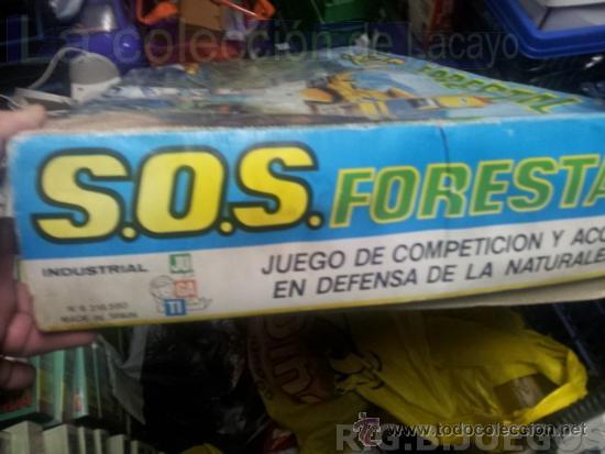 Juguetes antiguos: S.O.S. LA DEFENSA DE LOS BOSQUES-DIANA AEREA-SOS LA DEFENSE DE LA FORET CASA JUGATI AÑOS 70 - Foto 3 - 36534531