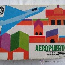 Juguetes antiguos: AEROPUERTO GOULA. JUEGOS EDUCATIVOS. . Lote 36620067
