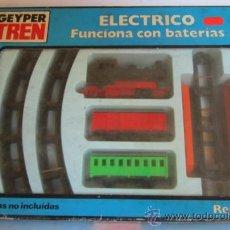 Juguetes antiguos: GEYPER TREN, ELECTRICO, EN CAJA. CC. Lote 37643583