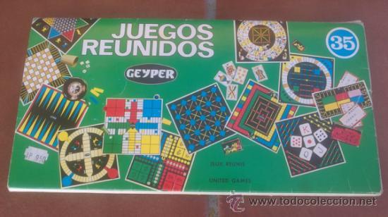 Juegos Reunidos Geyper Nº35 Los Cartones Comprar Juguetes