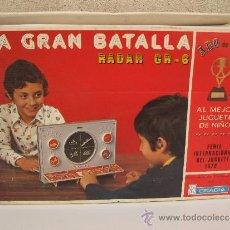 Juguetes antiguos: LA GRAN BATALLA - RADAR GR-6 - JUGUETES GRACIA - EN SU CAJA ORIGINAL - AÑO 1976.. Lote 37715283