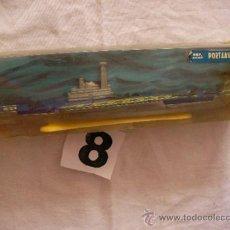 Juguetes antiguos: ANTIGUA MAQUETA DE MIRA PORTAAVIONES M 5000 EN METAL IMPECABLE. Lote 38035353
