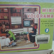Juguetes antiguos: MINI VOLGRAMA (AÑOS 60/70) EL PRIMER APALABRADOS DE LA TELE EN CASA. Lote 38473930