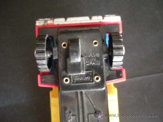 Juguetes antiguos: camion volquete a friccion con resorte el basculante, marca española shamber´s, - Foto 3 - 38805848