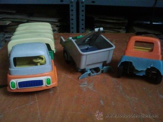 Juguetes antiguos: 2 camiones de geyper antiguos - Foto 2 - 39073570