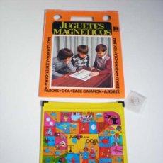 Brinquedos antigos: JUEGO MAGNETICO RIMA AÑOS 70 EL JUEGO DE LA OCA CHAPA ORIGINAL VINTAGE A ESTRENAR. Lote 263792695