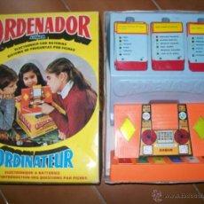 Juguetes antiguos: AIRGAM. ORDENADOR DE AIRGAM.. Lote 49584324