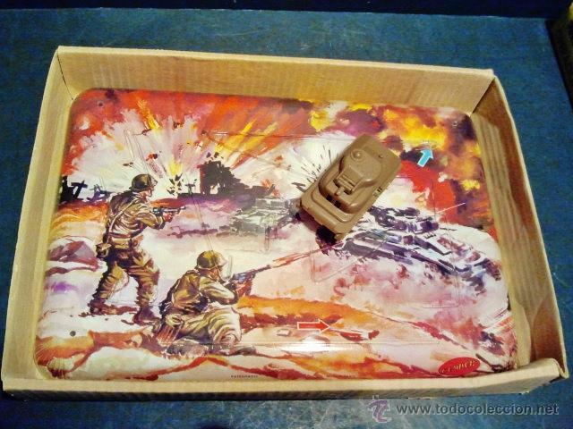 Juguetes antiguos: Operación Tanque. Pista mecánica de Geyper. En su caja original. Año 1960. - Foto 2 - 39601759