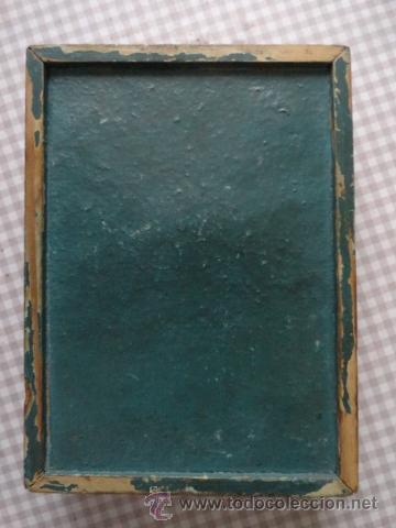 Juguetes antiguos: juego habilidad laberinto de la cenicienta años 50 marco madera y cristal - Foto 5 - 39686766