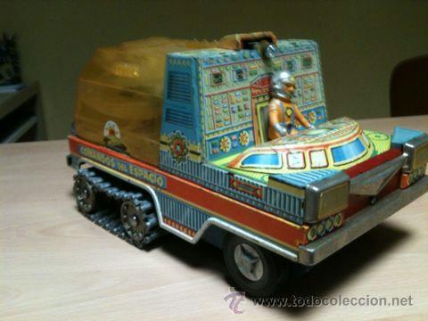 Juguetes antiguos: vehículo espacial marca ege. - Foto 2 - 39960219