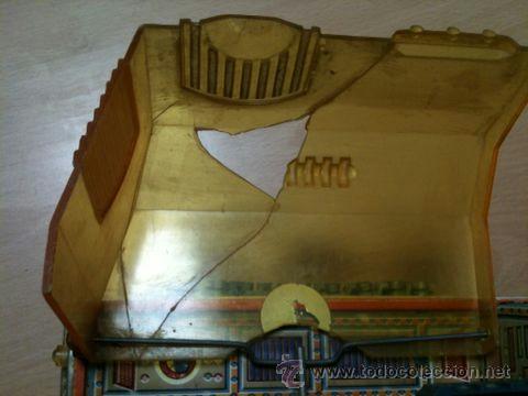 Juguetes antiguos: vehículo espacial marca ege. - Foto 4 - 39960219