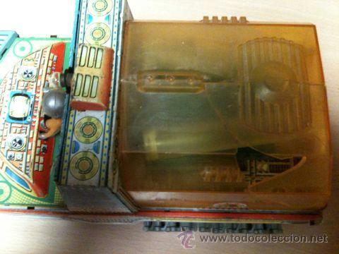 Juguetes antiguos: vehículo espacial marca ege. - Foto 5 - 39960219