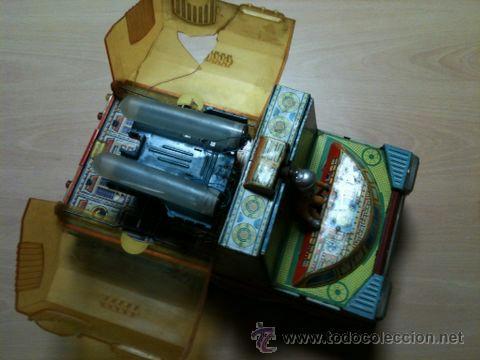 Juguetes antiguos: vehículo espacial marca ege. - Foto 6 - 39960219