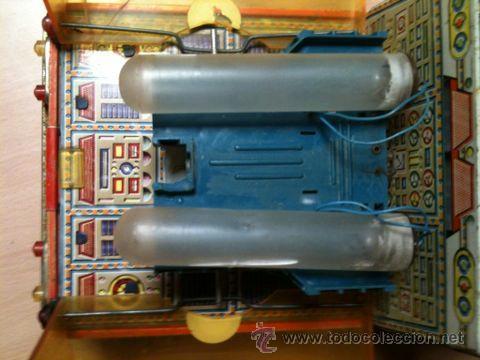 Juguetes antiguos: vehículo espacial marca ege. - Foto 7 - 39960219