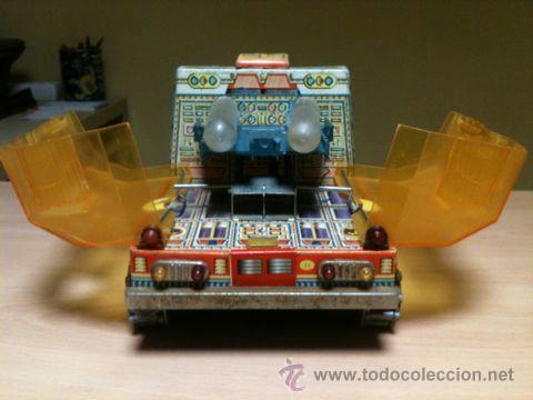 Juguetes antiguos: vehículo espacial marca ege. - Foto 9 - 39960219