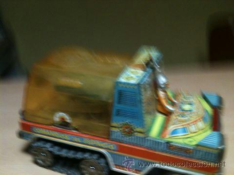 Juguetes antiguos: vehículo espacial marca ege. - Foto 10 - 39960219