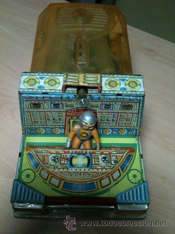 Juguetes antiguos: vehículo espacial marca ege. - Foto 14 - 39960219