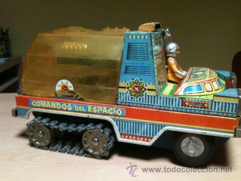 Juguetes antiguos: vehículo espacial marca ege. - Foto 15 - 39960219