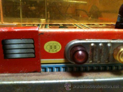 Juguetes antiguos: vehículo espacial marca ege. - Foto 16 - 39960219