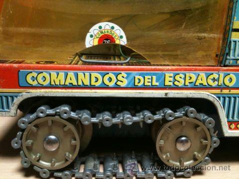 Juguetes antiguos: vehículo espacial marca ege. - Foto 17 - 39960219