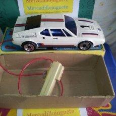 Juguetes antiguos: PRECIOSO BMW M1 ELECTRICO CON LUCES Y DIRIGIDO DE CLIM EN CAJA . Lote 40454072
