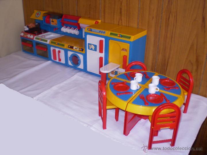 6 modulos cocinita molto a os 80 comprar juguetes for Cocinitas de juguete segunda mano