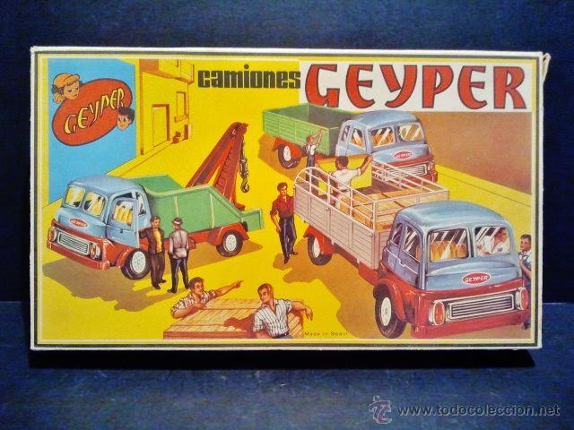 CAMIONES GEYPER 501 A ESTRENAR. (Juguetes - Marcas Clasicas - Otras Marcas)