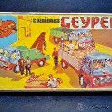 Juguetes antiguos: CAMIONES GEYPER 501 A ESTRENAR.. Lote 40708567