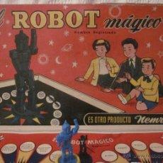 Juguetes antiguos: EL ROBOT MÁGICO,NEMROD,CAJA ORIGINAL,AÑOS 50. Lote 40791062