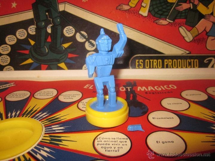 Juguetes antiguos: EL ROBOT MÁGICO,NEMROD,CAJA ORIGINAL,AÑOS 50 - Foto 2 - 40791062